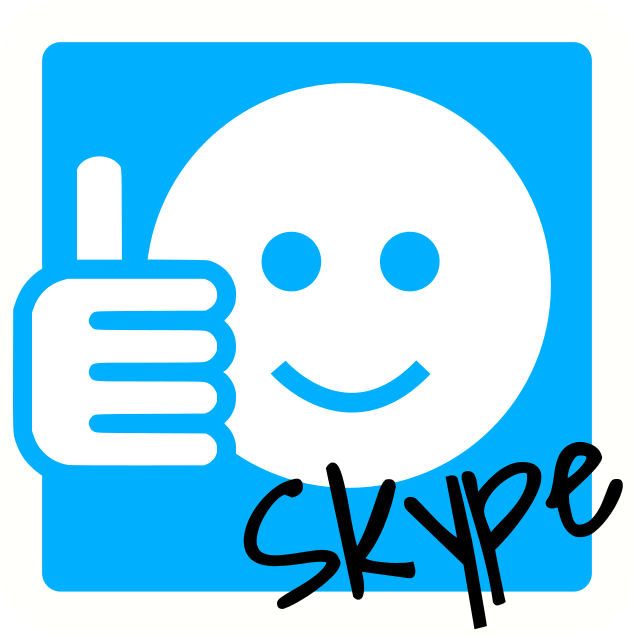 I can skype icon